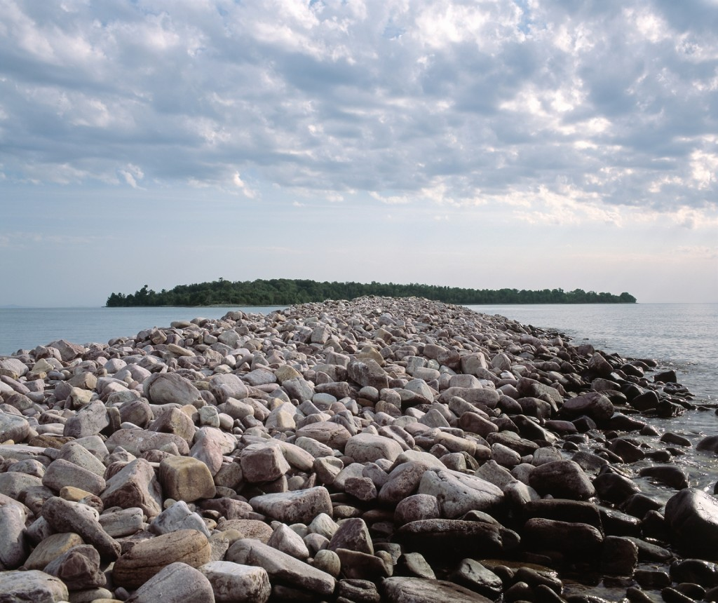 Eagle Rock Eclipsing Rabbit Island